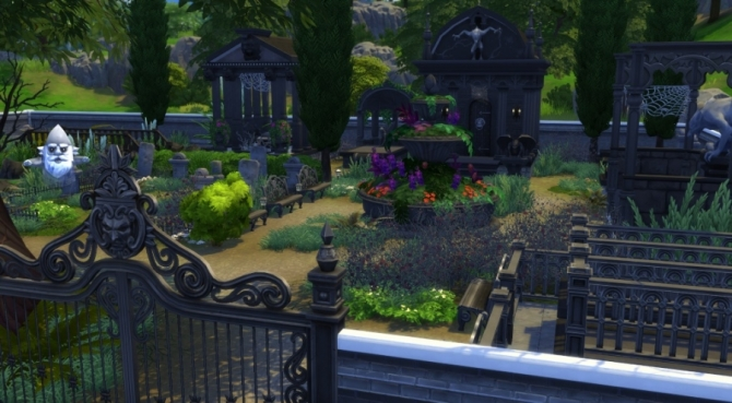 The Cursed Cemetery By Pyr 233 N 233 A At Sims Artists 187 Sims 4