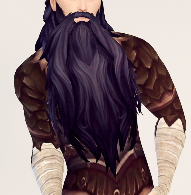 Archdruid Malfurions Beard conversion at Valhallan image 853 670x684 Sims 4 Updates
