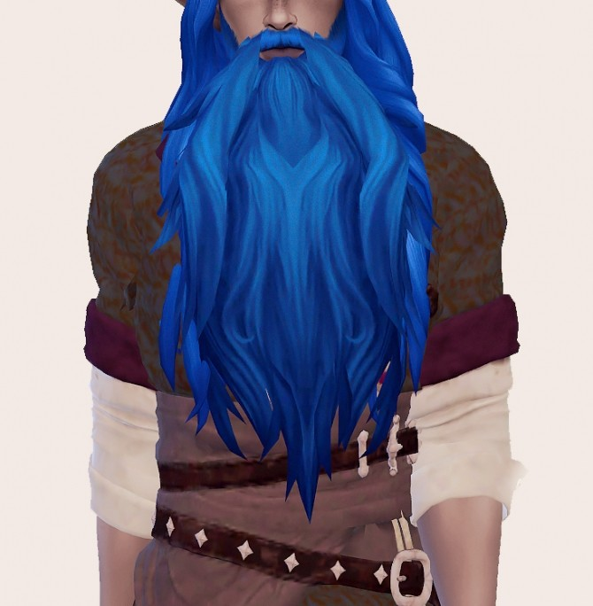 Archdruid Malfurions Beard conversion at Valhallan image 863 670x684 Sims 4 Updates