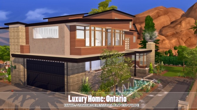 Luxury Home Ontario at Homeless Sims image 875 670x376 Sims 4 Updates