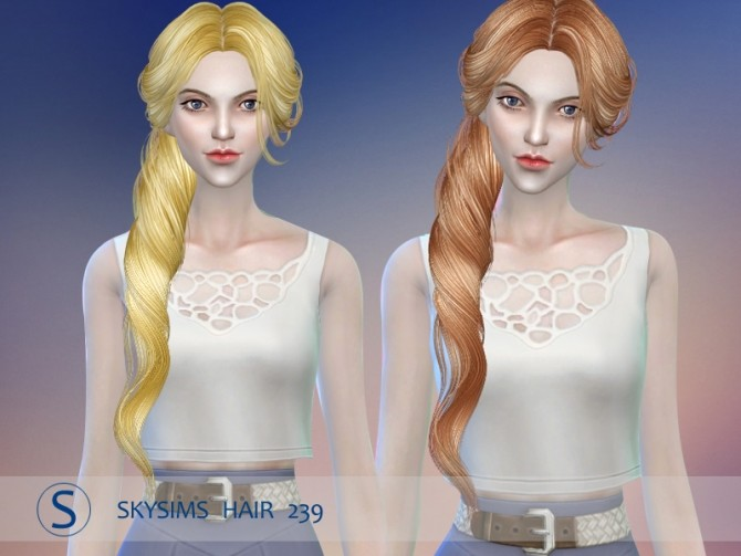 Hair 239 by Skysims at Butterfly Sims image 876 670x503 Sims 4 Updates