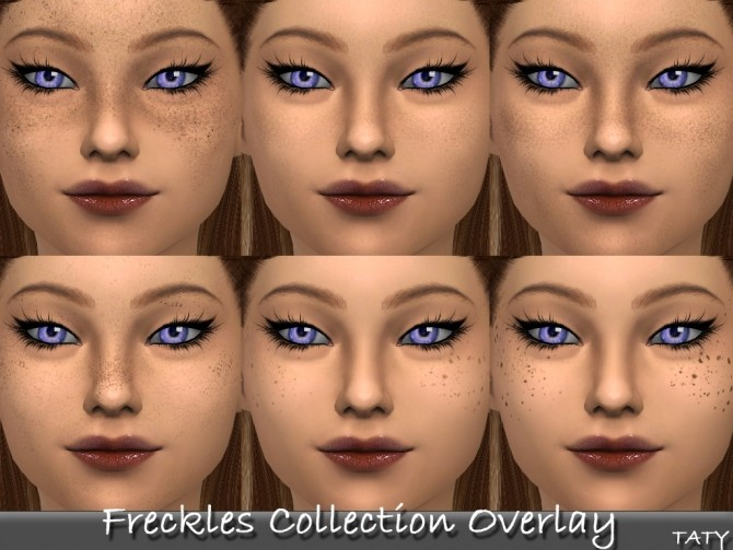 Freckles Collection Overlay At Taty E 225 Man 235 Palant 237 R