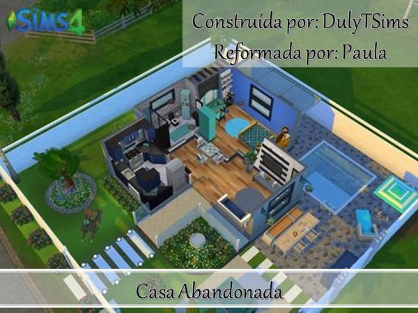 Sims 4 Trash House by PaulaBATS at TSR