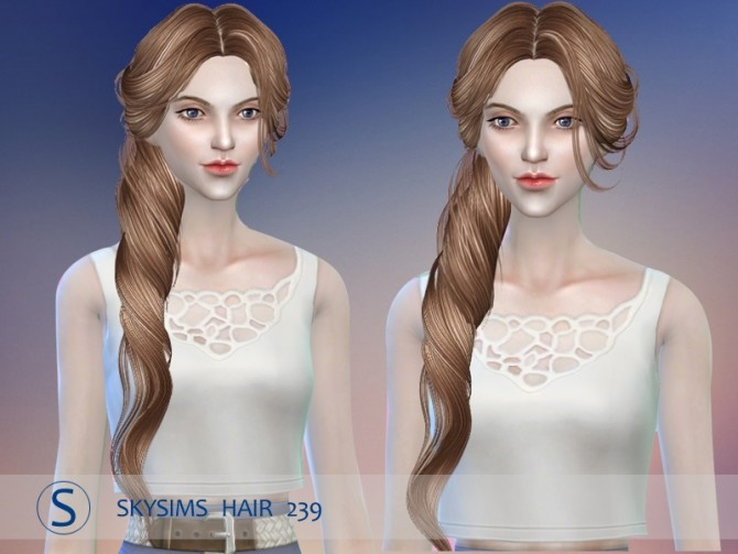 Hair 239 by Skysims at Butterfly Sims image 886 670x503 Sims 4 Updates