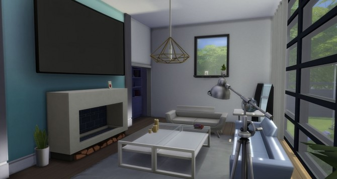 Sims 4 Spacious Modern Home by simsessa at Mod The Sims