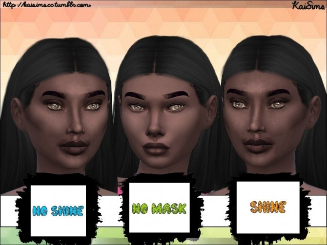 Ethnic Facial Mask Set 1 by KaiSimsCC at SimsWorkshop image 8913 670x503 Sims 4 Updates
