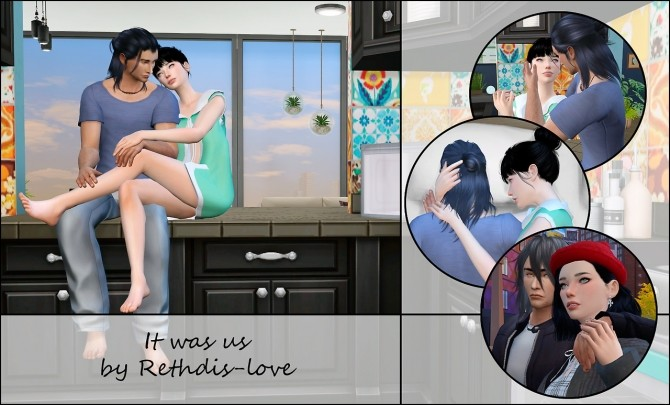 It was us posepack at Rethdis love image 90 670x405 Sims 4 Updates