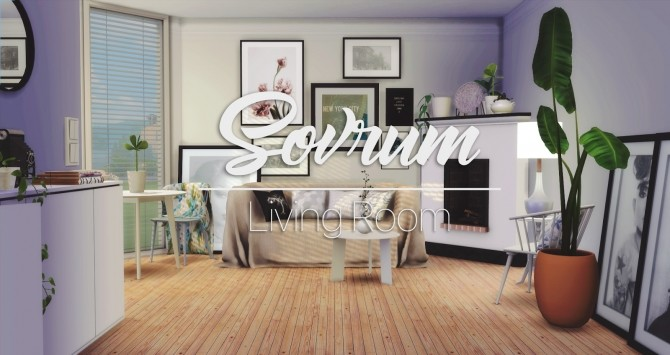 Sovrum Living Room at Pyszny Design image 901 670x355 Sims 4 Updates