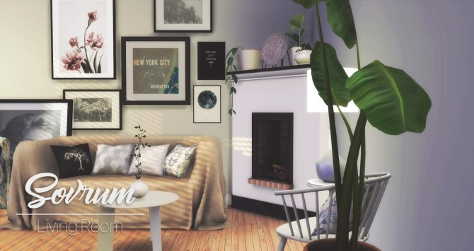 Sovrum Living Room at Pyszny Design image 911 670x355 Sims 4 Updates