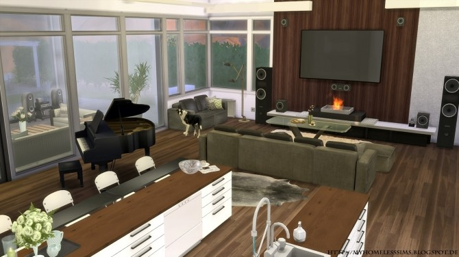 Luxury Home Ontario at Homeless Sims image 9110 670x376 Sims 4 Updates