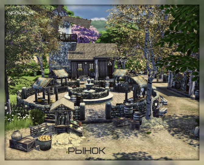 Market at Nagvalmi image 916 670x542 Sims 4 Updates