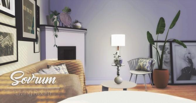 Sovrum Living Room at Pyszny Design image 921 670x355 Sims 4 Updates
