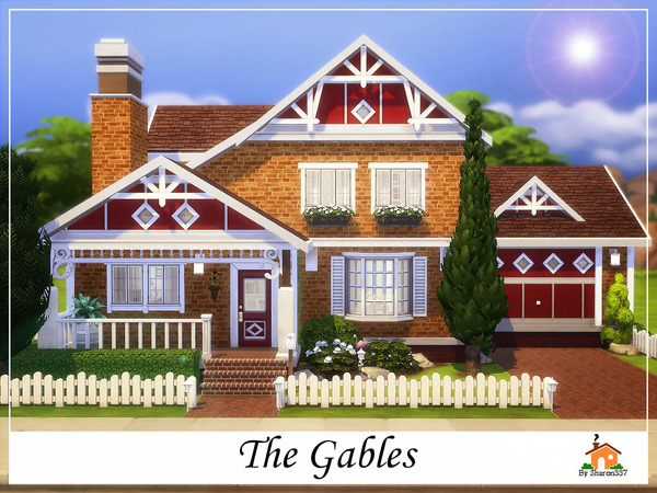 Sims 4 The Gables home by sharon337 at TSR