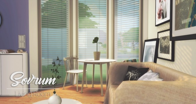Sovrum Living Room at Pyszny Design image 931 670x355 Sims 4 Updates