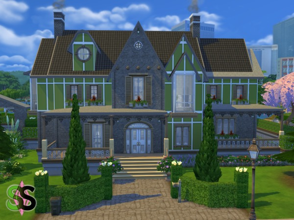 Green Leaves house by SIMSnippets at TSR image 933 Sims 4 Updates