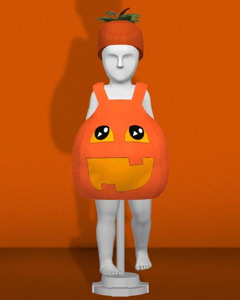 Sims 4 PUMPKIN COSTUME at REDHEADSIMS