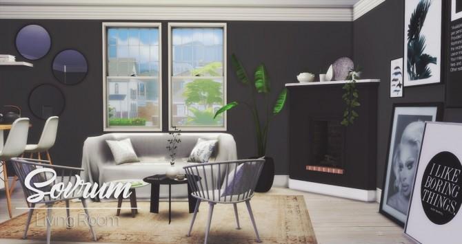 Sovrum Living Room at Pyszny Design image 941 670x355 Sims 4 Updates
