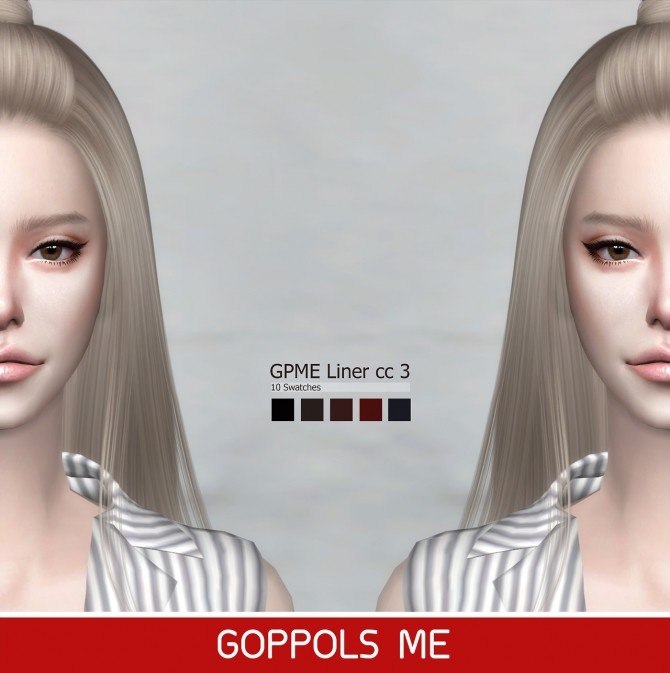 Sims 4 GPME Liner cc3 at GOPPOLS Me
