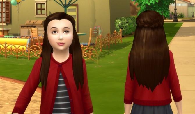 Małgorzata Hair for Girls at My Stuff image 9913 670x393 Sims 4 Updates