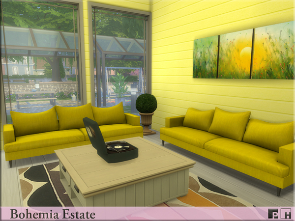 Bohemia Estate by Pinkfizzzzz at TSR image 1010 Sims 4 Updates