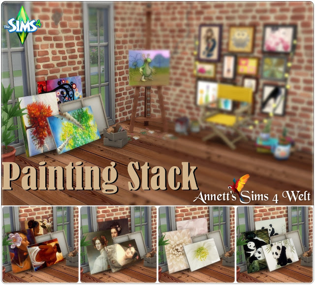 Painting Stack at Annett's Sims 4 Welt image 1023 Sims 4 Updates