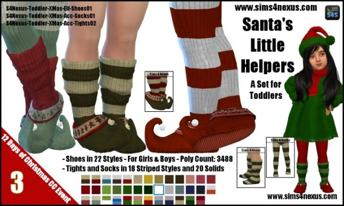 Santa's Little Helpers by SamanthaGump at Sims 4 Nexus image 10314 670x402 Sims 4 Updates