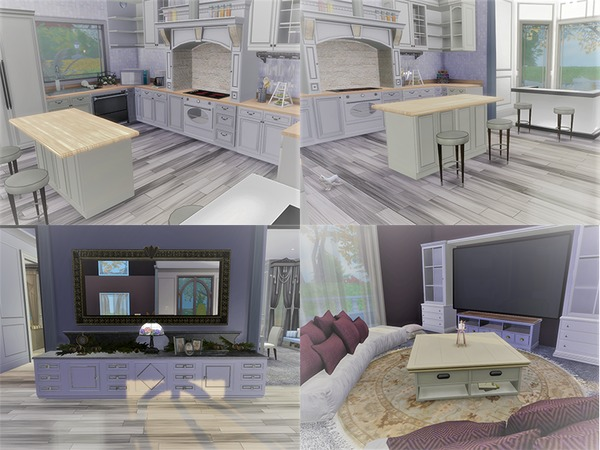Euro Glam house by circasuzanne at TSR image 1038 Sims 4 Updates