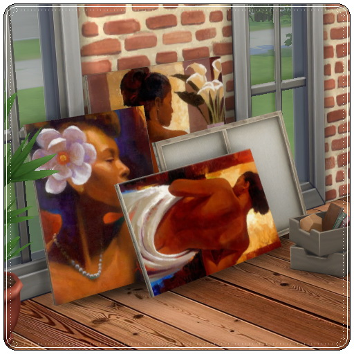 Painting Stack at Annett's Sims 4 Welt image 1043 Sims 4 Updates