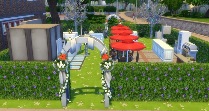 Wedding Park by hisstoryman at Mod The Sims image 1047 670x358 Sims 4 Updates