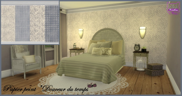 Sims 4 Sweets of time wallpaper by Sophie Stiquet at Les Sims4
