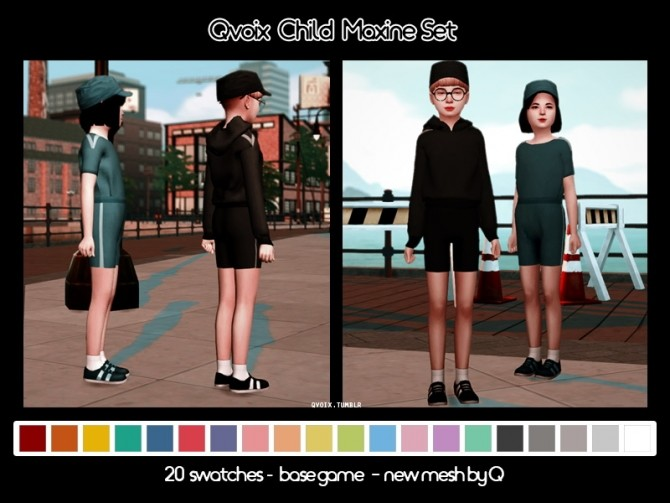 Sims 4 Maxine Set at qvoix – escaping reality