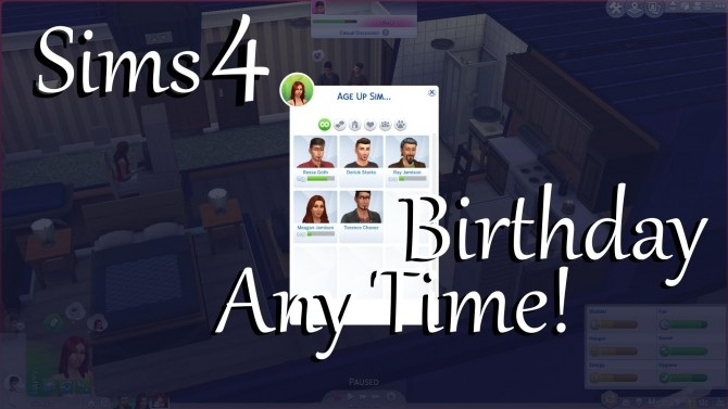 Birthday Anytime by PolarBearSims at Mod The Sims image 1087 670x377 Sims 4 Updates