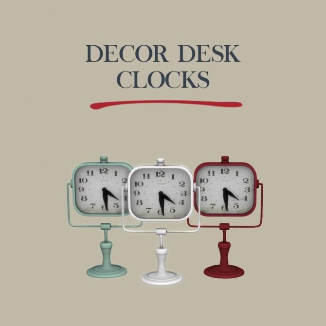 Decor Desk Clock at Leo Sims image 1109 670x670 Sims 4 Updates