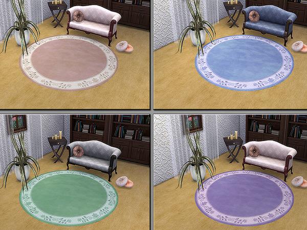Sims 4 MB Rug Melody by matomibotaki at TSR