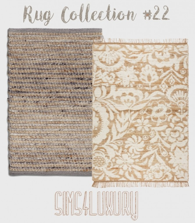 Sims 4 Rug Collection #22 at Sims4 Luxury