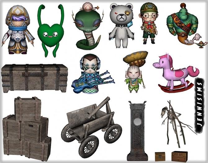 Sims 4 Set Vol 85 Decoratives 15 Items at Jenni Sims