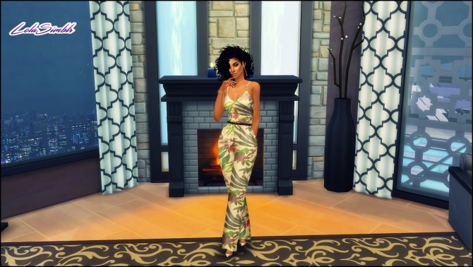 Sims 4 Classy Jumpsuit at LolaSimblr