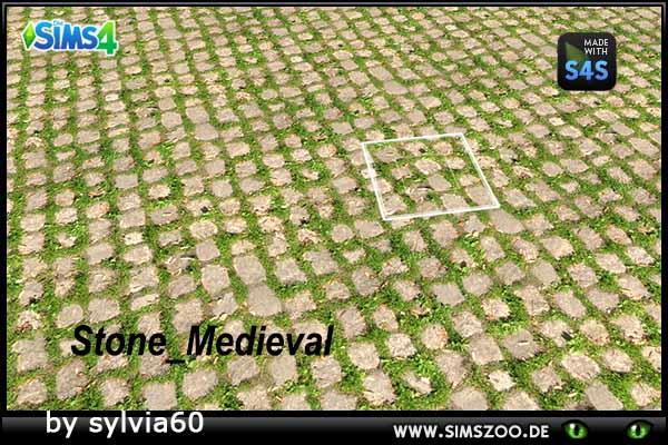 Sims 4 Stone Medieval terrain by sylvia60 at Blacky's Sims Zoo