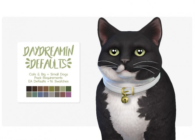 Sims 4 DayDreamin eyes for Cats and Large & Small Dogs at Nolan Sims
