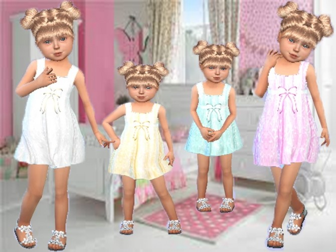 Sims 4 Silk and lace nightgown at Trudie55