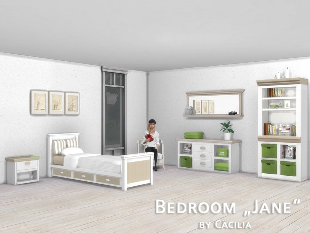 Jane bedroom by Cäcilia at Akisima image 1193 Sims 4 Updates