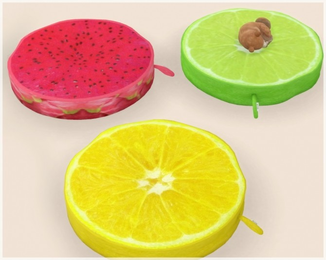 Fruit Cocktail Pet Bed At Helen Sims 187 Sims 4 Updates