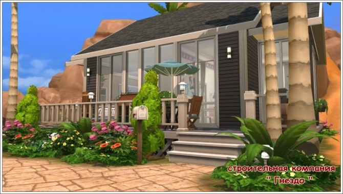 Amina house at Sims by Mulena image 1217 670x380 Sims 4 Updates