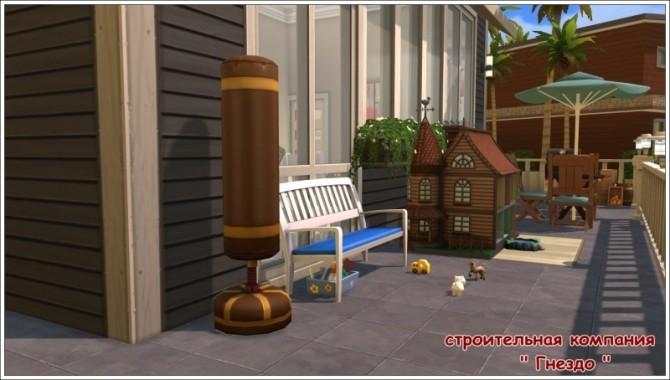 Amina house at Sims by Mulena image 1234 670x380 Sims 4 Updates