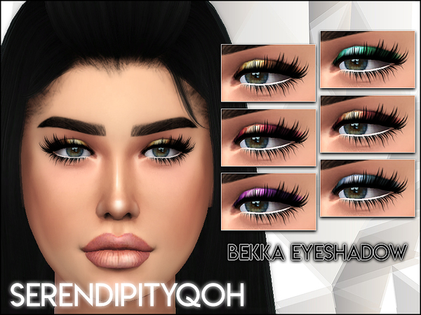Sims 4 Bekka Eyeshadow by SerendipityQOH at TSR