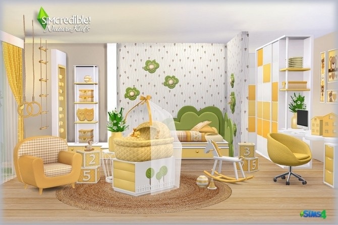 NATURE KIDS room (Pay) at SIMcredible! Designs 4 image 1256 670x447 Sims 4 Updates
