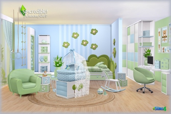 NATURE KIDS room (Pay) at SIMcredible! Designs 4 image 1267 670x447 Sims 4 Updates