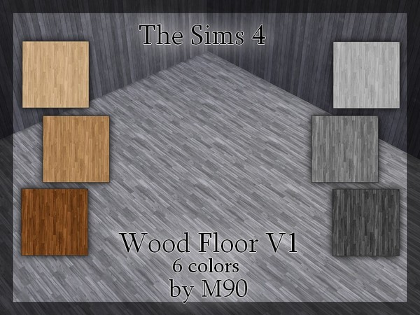 M90 Wood Floor v1 by Mircia90 at TSR image 1270 Sims 4 Updates