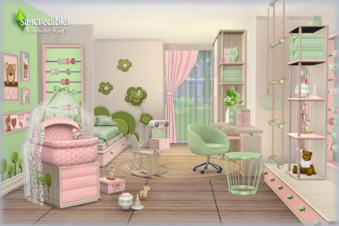 NATURE KIDS room (Pay) at SIMcredible! Designs 4 image 1277 670x447 Sims 4 Updates