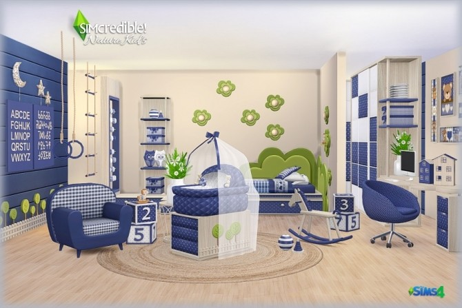 NATURE KIDS room (Pay) at SIMcredible! Designs 4 image 1285 670x447 Sims 4 Updates
